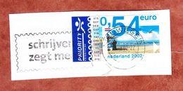 Briefstueck, EF Strand, MS Nieuwegein 2002 (69564) - Storia Postale