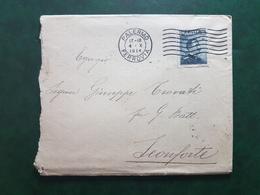 (17002) STORIA POSTALE ITALIA 1914 - Storia Postale