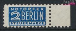 Bizone (Alliierte Besetzung) Z2H W Zwangszuschlag Gezähnt L 11 1/2 Postfrisch 1948 Notopfer Berlin (9282829 - Amerikaanse-en Britse Zone