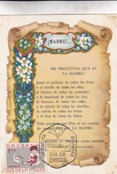 MADRE! MOTHER!-FDC 1959 LA PLATA, ARGENTINE. CARD - BLEUP - Mother's Day