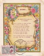 MADRE! MOTHER!-FDC 1959 LA PLATA, ARGENTINE. CARD - BLEUP - Muttertag