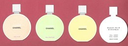 F-  Lot De 3 Répliques  Chanel - Chance   -    Perfume Card - Japon - Perfume Cards