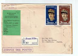NOUVELLES HEBRIDES -DE GAULLE -26.12.1970- Oblit. PORT VILA - FDC