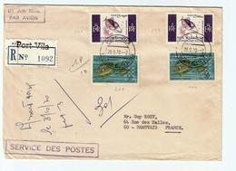 NOUVELLES HEBRIDES  -29.09.1970- Oblit. PORT VILA - FDC