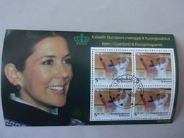 Groenland Prince Frederik Princesse Mary Donaldson Gronland Bloc - Blocs