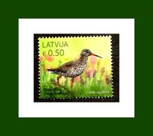 Latvia Lettland Lettonie 2018  RARE BIRD  USED (0) - Lettonie