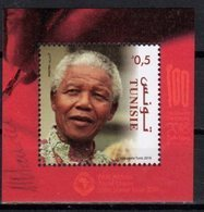 TUNISIA, 2018,MNH, JOINT ISSUE, NELSON MANDELA, S/SHEET - Joint Issues