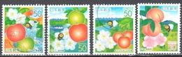 Japan 2005 - Mi. 3840-43 - Used - Usati