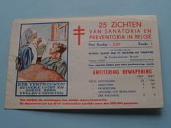 Sanatorium Et Préventorium Belges ( Tuberculose ) Reeks 1 ( Sluitzegels : Voir Foto Pour Détails ) Encore 21 !! - Belgio