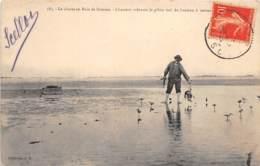 80 - Somme / 10049 - La Chasse En Baie De Somme - Chasseur Relevant Le Gibier Tué Du Huteau - France