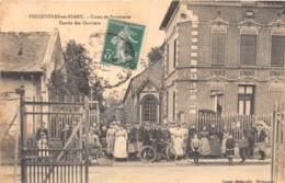 80 - Somme / 10068 - Feuquières En Vimeu - Usine De Serrurerie - Entrée Des Ouvriers - Beau Cliché Animé - Autres Communes