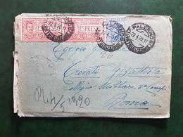 (17045) STORIA POSTALE ITALIA 1920 - Storia Postale