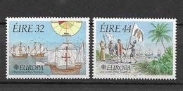 1992 MNH Ireland Michel 782-3 Postfris** - Nuevos