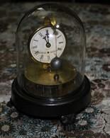 Mystère Antique John C Briggs Pat Août 1855, Pendule à Pendule Rotatif, Juillet - Bijoux & Horlogerie