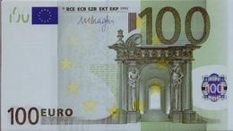 SPAIN 100 Euro Draghi M005 UNC - EURO