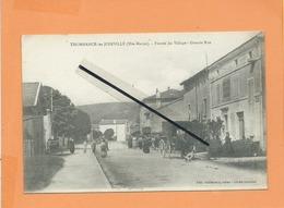 CPA - Thonnance Les Joinville -(Hte Marne ) - Entrée Du Village - Grande Rue - Autres Communes
