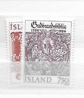 1984 MNH Iceland, Michel 626-27 Postfris** - 1944-... Republique