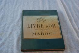 Livre D'or Des Combattants  Du Maroc - Livres