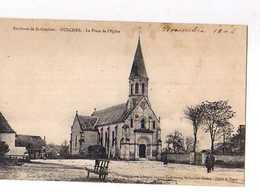 35 OULCHES Environs De St Gaultier La Place De L'Eglise - France