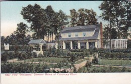 "New York Saratoga Rear View Of ""Inniscara"" Summer Home Of Chauncey Olcott - Saratoga Springs"