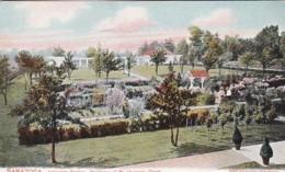 New York Saratoga Residence Of Mr Chauncey Olcott Inniscarra Garden - Saratoga Springs