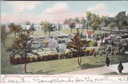 New York Saratoga Residence Of Mr Chauncey Olcott Innescara Garden 1905 - Saratoga Springs