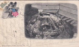 New York Saratoga High Rock Spring 1906 - Saratoga Springs