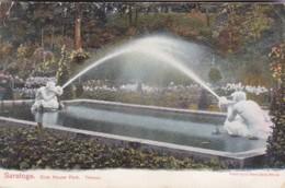 New York Saratoga Springs Club House Park Tritons 1910 - Saratoga Springs