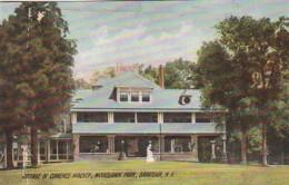 New York Saratoga Woodlawn Park Cottage Of Clarence Mackey 1911 Rotograph - Saratoga Springs