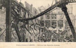 D80  Bombardement D'Amiens  Intérieur Des Nouvelles Galeries - Amiens