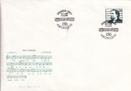 Estonia 1995 FDC Sc #296 2k Aleksander Kunileid, Composer - Estonie