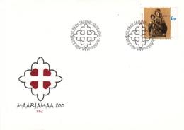 Estonia 2001 FDC Sc #421 6.50k Establishment Of St Mary's Land 800th Anniversary - Estonie