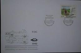 O) 1990 FINLAND SUOMI, RURAL POSTAL SERVICE-ADDRESS REFORM SCT 819, FDC XF - Finland