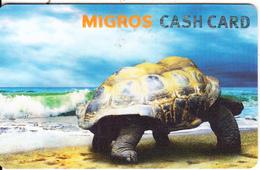 SWITZERLAND - Turtle, Migros Gift Card, Unused - Tortues