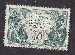 French Somali Coast, Scott #135, Used, Colonial Exposition, Issued 1931 - French Somali Coast (1894-1967)