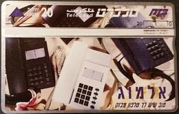 Telefonkarte Israel - Telefon - 411A - Telephones