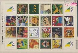 Brasilien 3007-3026 Zd-Bogen (kompl.Ausg.) Postfrisch 2000 Entdeckung Brasiliens (9283010 - Brasilien