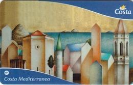 ITALY Cabin Keycard - COSTA MEDITERRANEA , Used - Cartes D'hotel