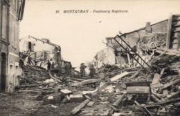 D82  MONTAUBAN  Faubourg Sapiacou  ................. ( Après Les Inondations De 1930 ) - Montauban