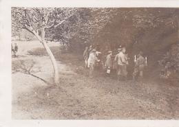 (02) - Courtrizy Waldlager 1917  Photo Allemande Feldpost - Francia
