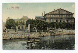 Budweis (Repubblica Ceca) - Deutsches Haus Mit Museum - Non Viaggiata - Primi 1900 - (FDC14167) - Repubblica Ceca