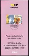 Croatia 2004 / Croatian Music / Prospectus, Leaflet, Brochure - Kroatien