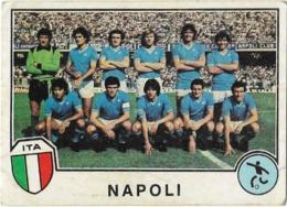 FIGURINA NAPOLI EUROFOOTBALL 82 N° 201 Con Velina - Edizione Italiana