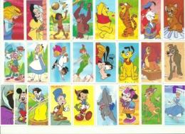 SERIE COMPLETA 25 FIGURINE THE MAGICAL WORLD OF DISNEY By Brooke Bond 1989 - Adesivi