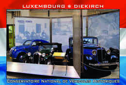 Carte Postale, REPRODUCTION, Diekirch (19), Luxembourg - Musées