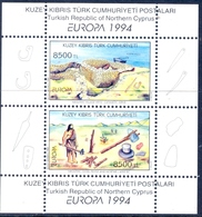 TURKISH-CYPRUS 1994 Archaeological Discoveries Set (1 MS), XF MNH, MiNr Block 13, SG MS 372; C.v. €8.00 Or £4.50 - 1921-... Republic