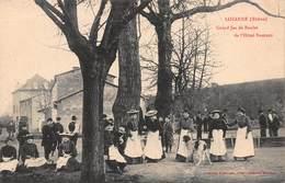 CPA LOZANNE ( Rhône ) - Grand Jeu De Boules De L' Hôtel Namiand - Autres Communes