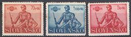E078) SLOVACCHIA 1942 SERIE COMPLETA MNH - Nuovi