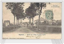 SIGNEULX ..-- MUSSON ..-- Entrée Du Village . Krémer . Vers PARIS ( Mr Elie BRUQUE ) . Voir Verso . - Musson