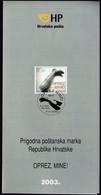 Croatia 2003 / Caution! Land Mines! / Prospectus, Leaflet, Brochure - Kroatien